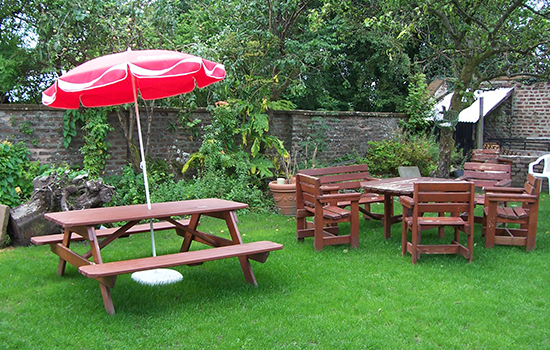 Gatehouse of Fleet Beer Garden